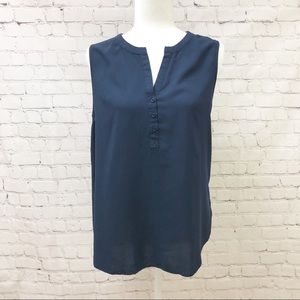 Pleione Navy Sleeveless Tunic